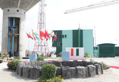Inauguration du Château d'eau de Bonoua 1