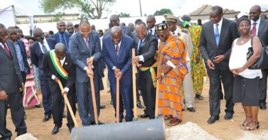 Travaux d'alimentation en eau potable du nord-est de la ville d'Abidjan