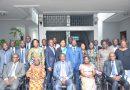 Cérémonie de présentation des membres du bureau de la mutuelle des agents de l'ONEP.